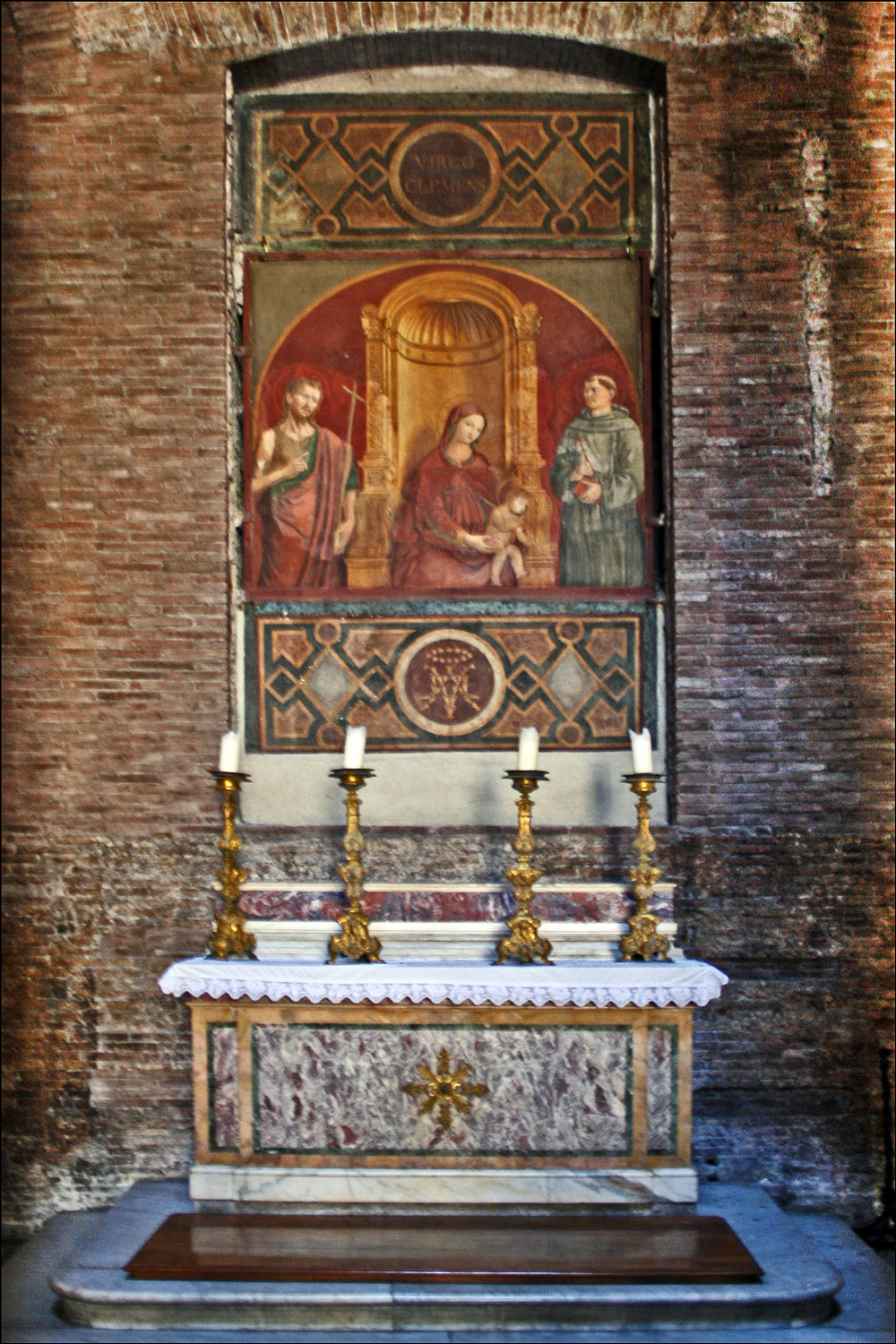 The Chapel of the Madonna of Mercy