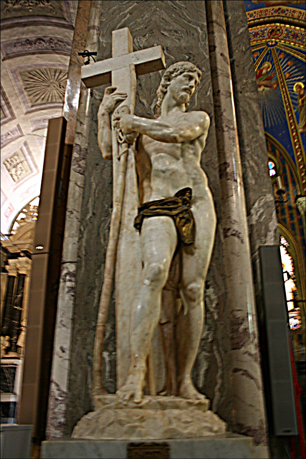 Michelangelo's Sculpture of Christ the Redeemer