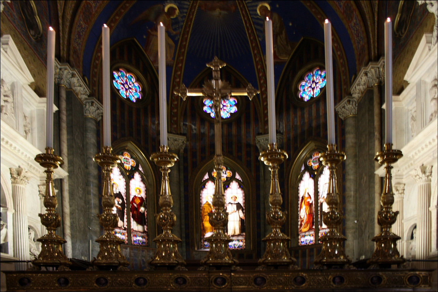 Main Altar of the Basilica of Saint Mary Above Minerva