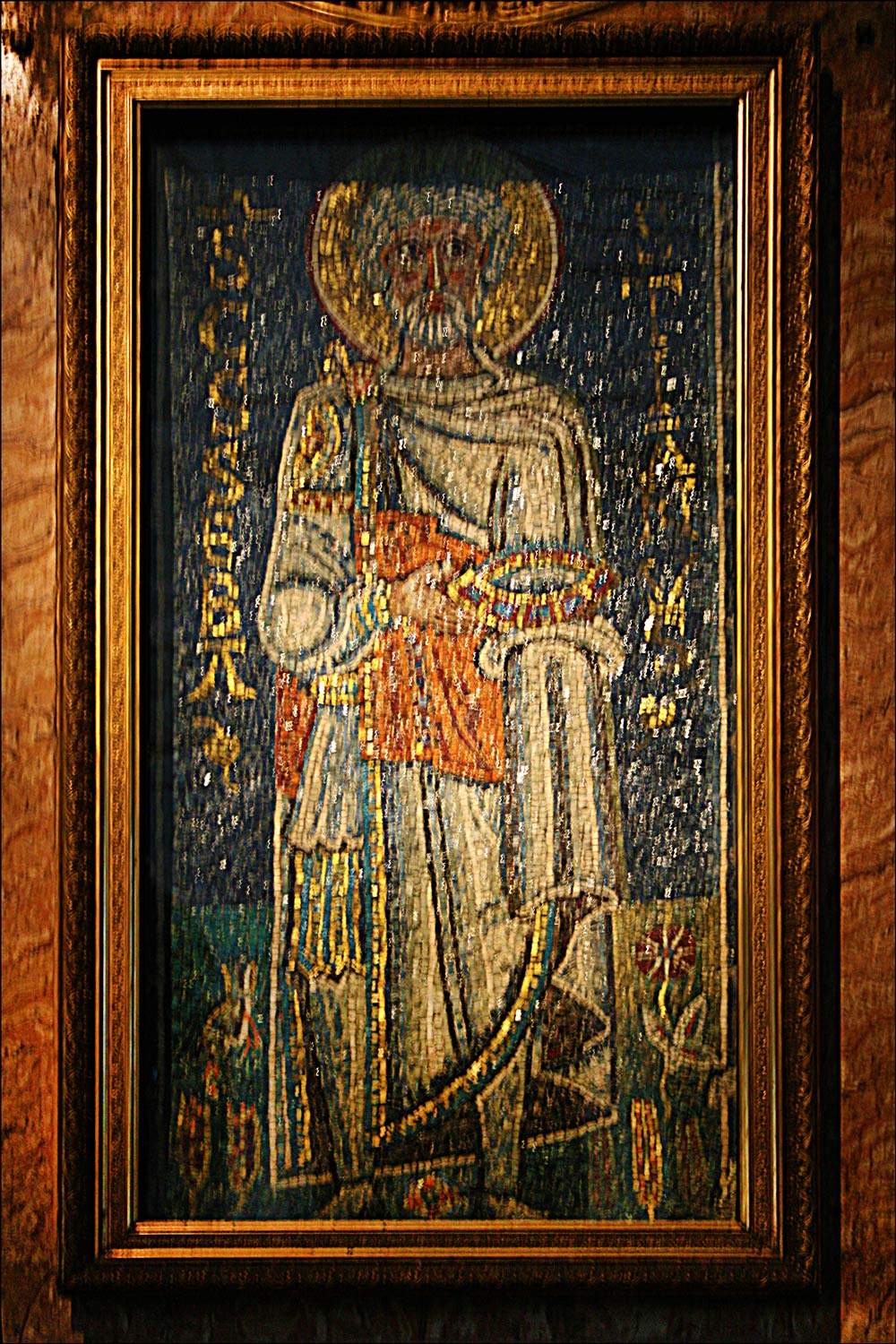 Mosaic of Saint Sebastian