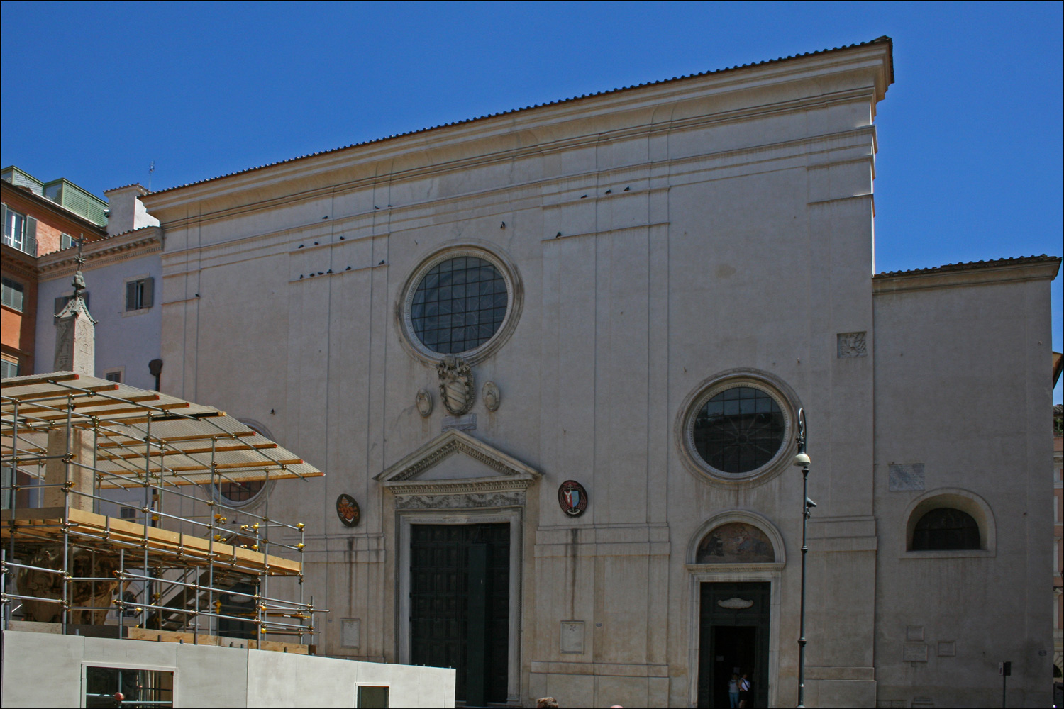 The Basilica of Saint Mary Above Minerva