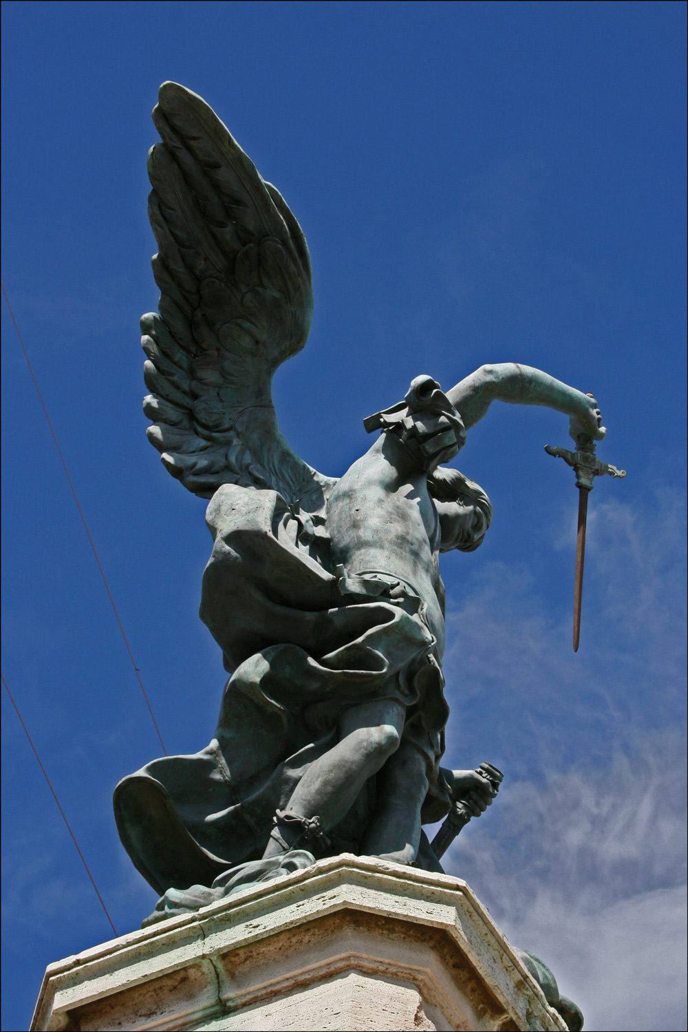 The Archangel Michael by Pieter Van Verschaffelt