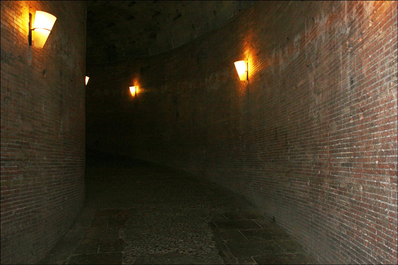 Spiral Passageway in Castel Sant'Angelo