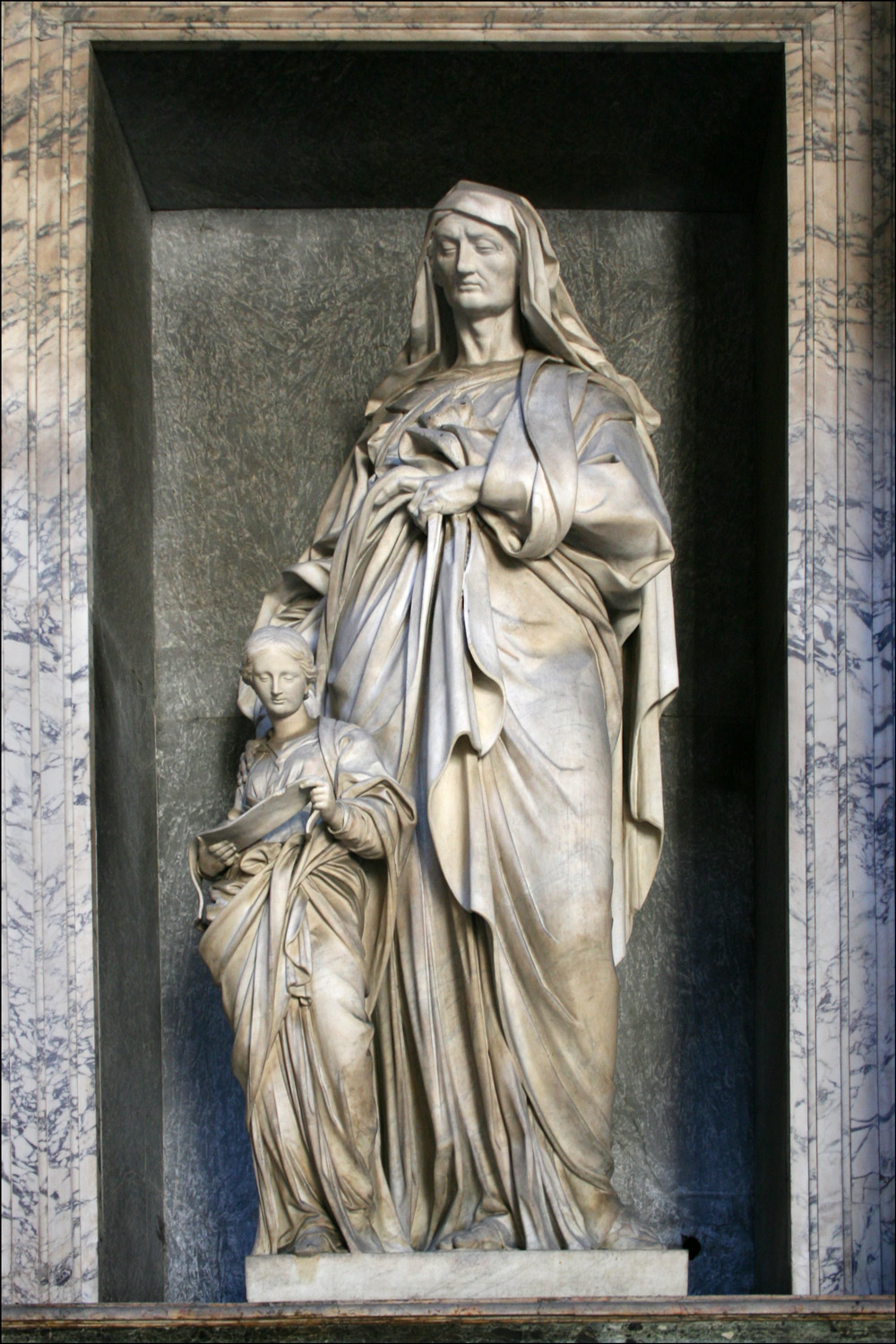 St. Anne and the Blessed Virgin