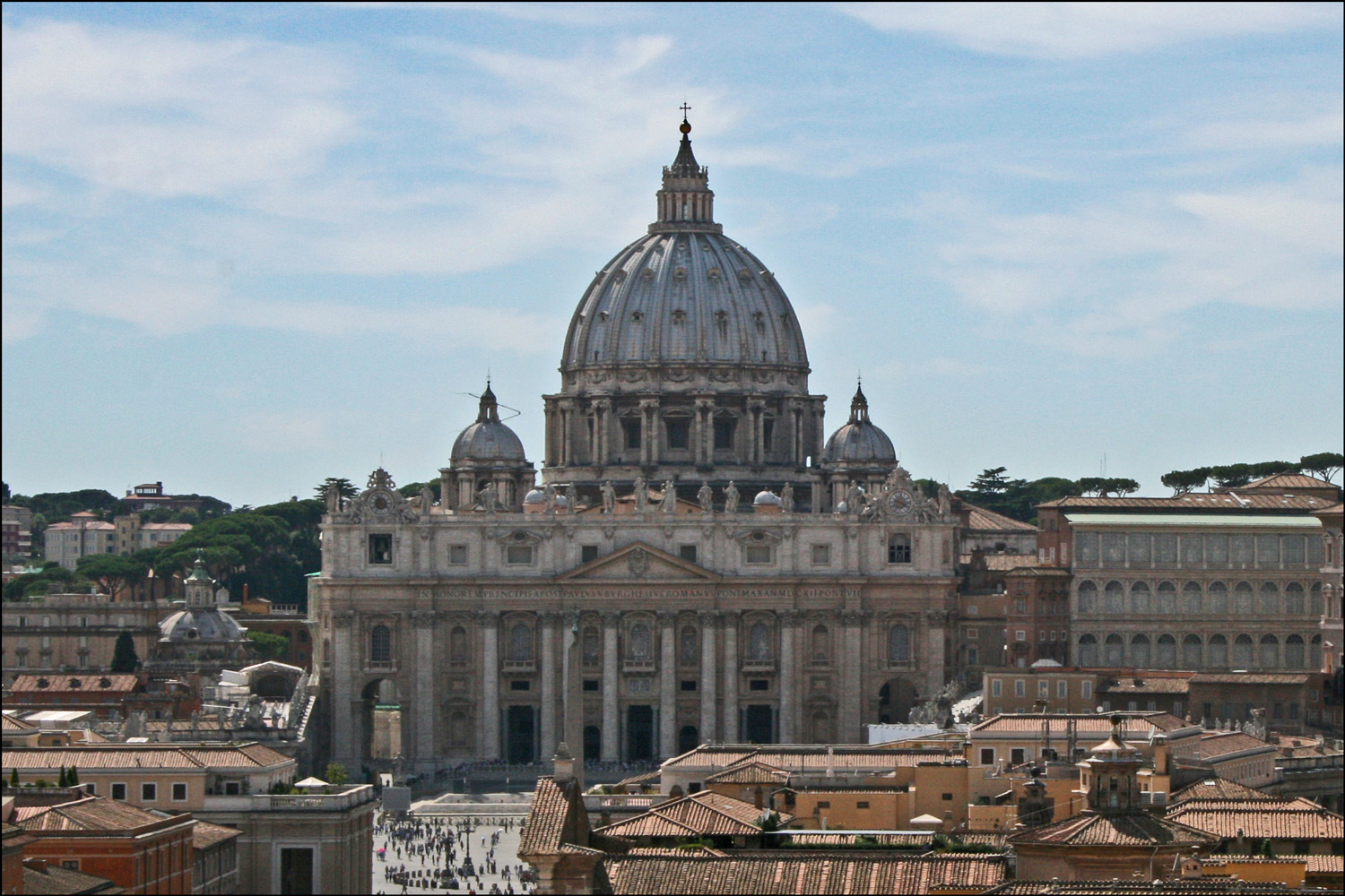 View of Saint Peter's Basilica