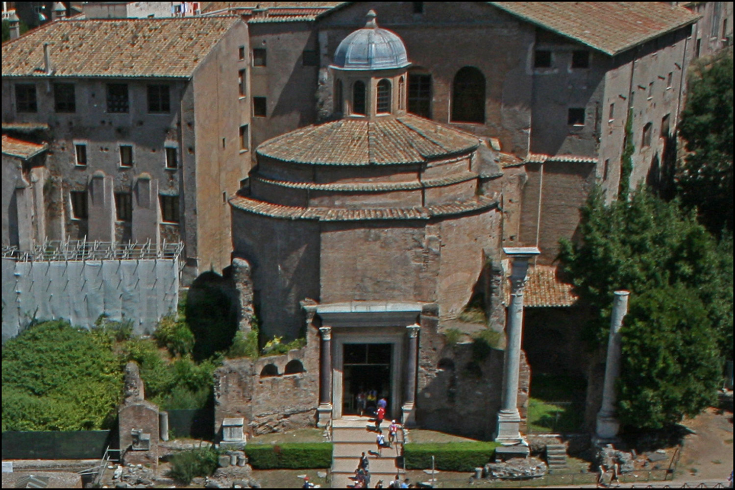 The Temple of Divus Romulus