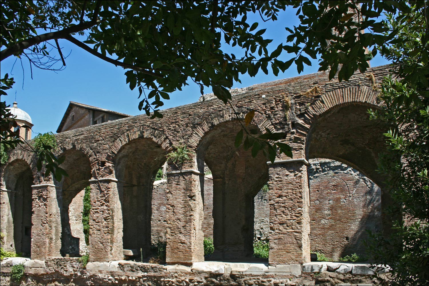 Arches near the Basilica of Maxentius