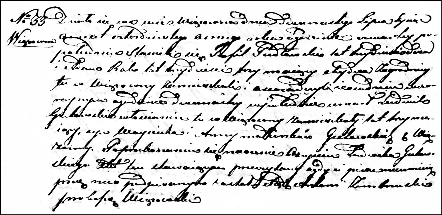 The Death and Burial Record of Ludwik Gutowski – 1848