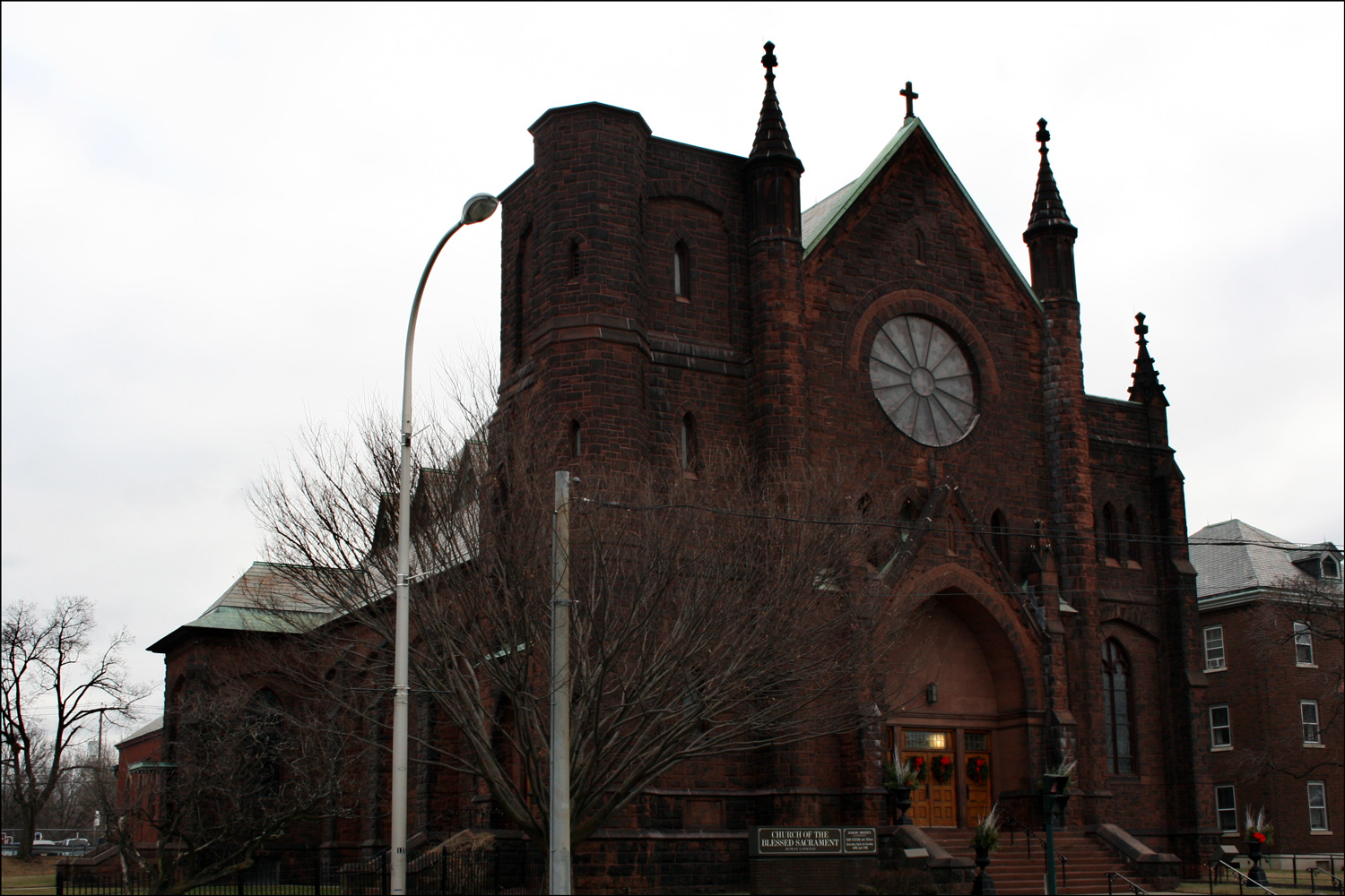 Church of the Blessed Sacrament - Exterior