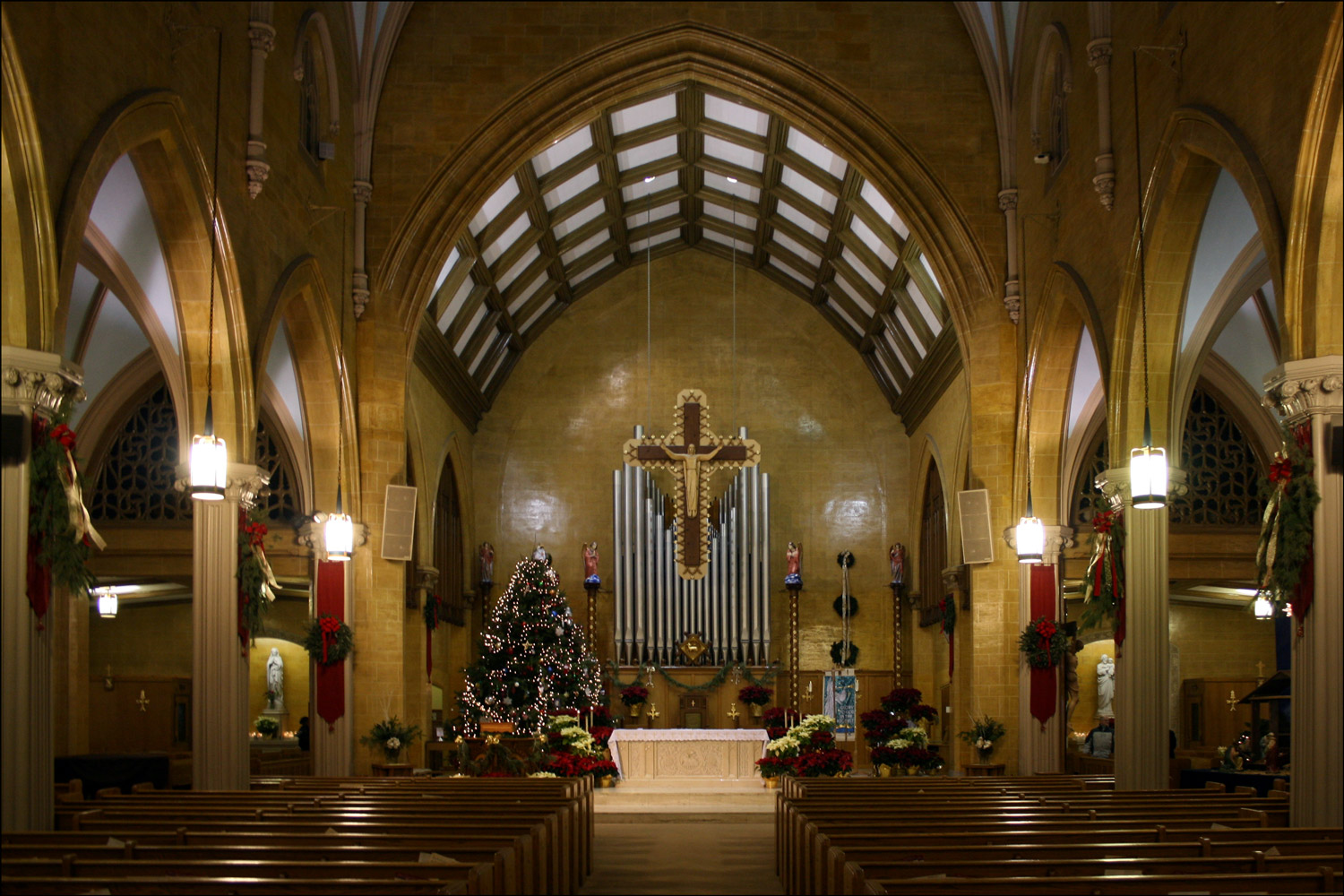 Church of the Blessed Sacrament - Interior
