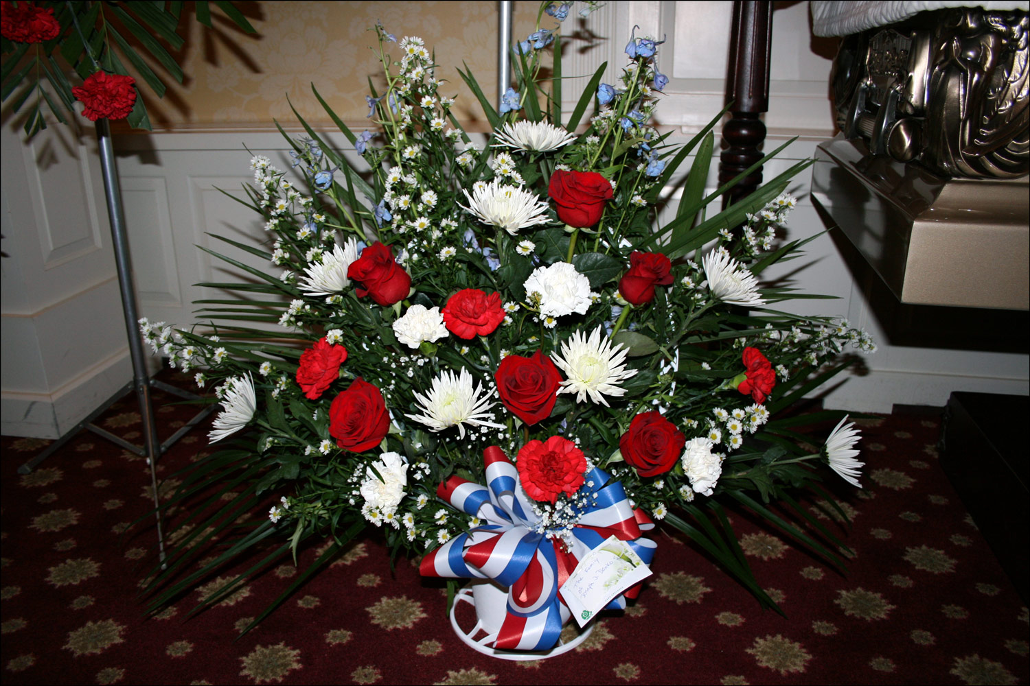 Flowers from the Family of Joseph Danko, Sr.