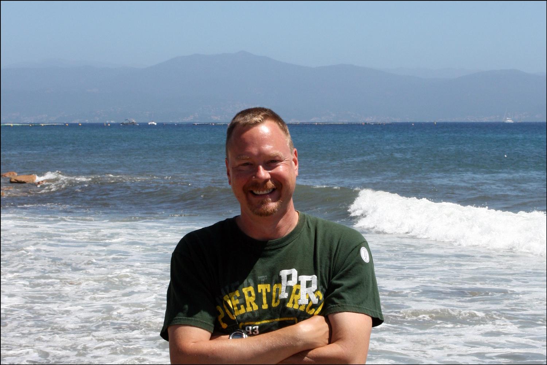 Steve in Corsica