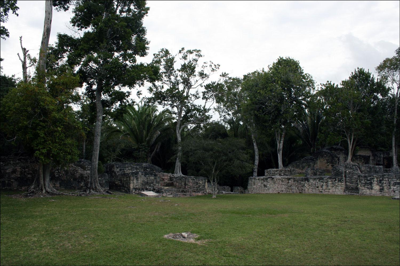 Acropolis Plaza in Kohunlich