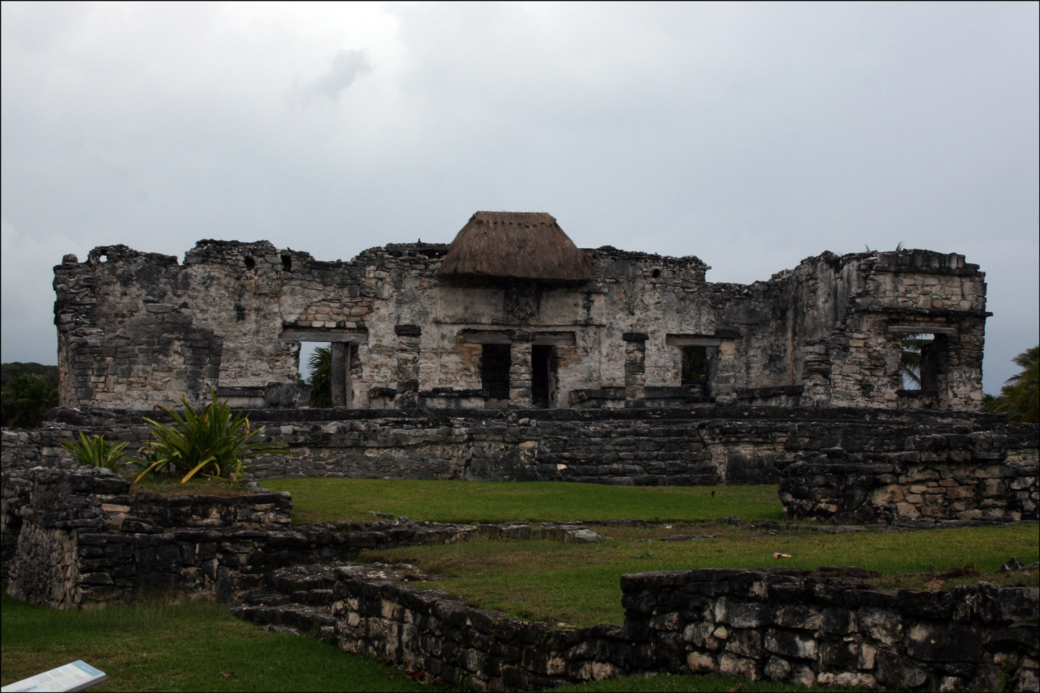 The House of the Halach Uinic in Tulum - 1