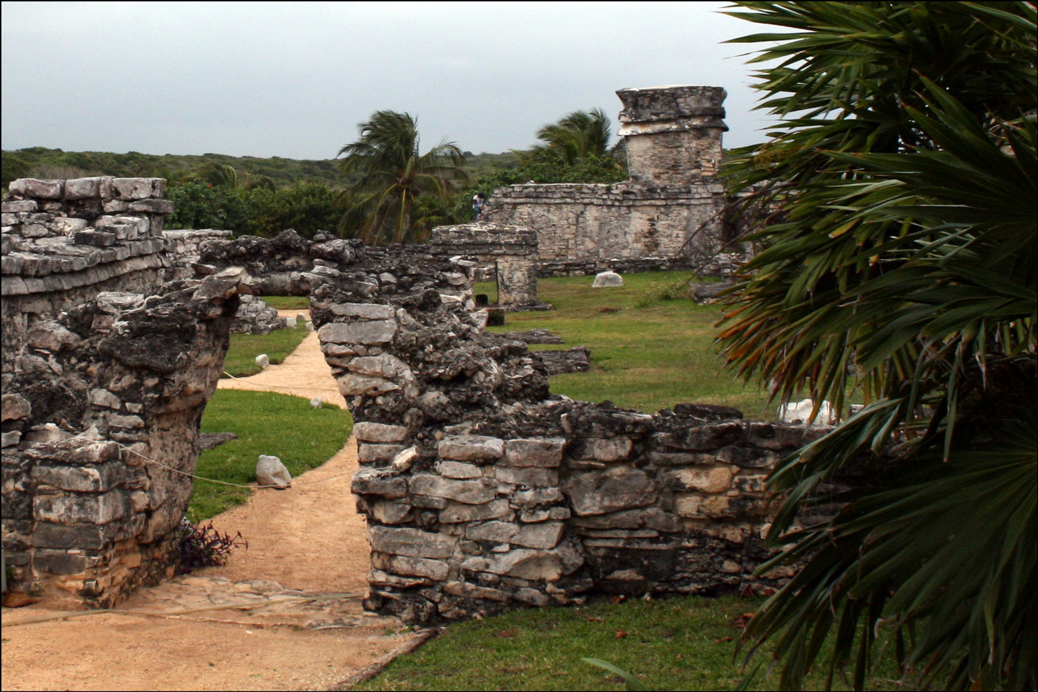 Wall and Gateway to Tulum