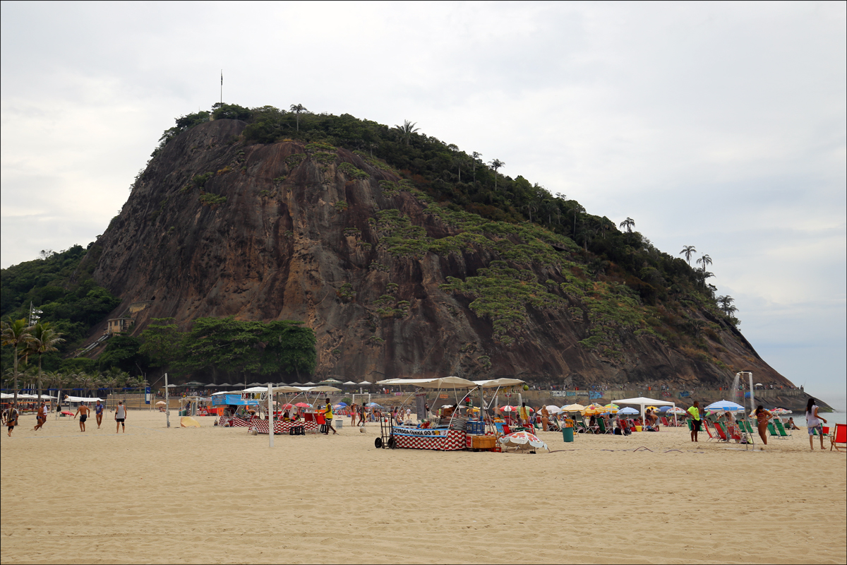 Copacabana Beach Hillside