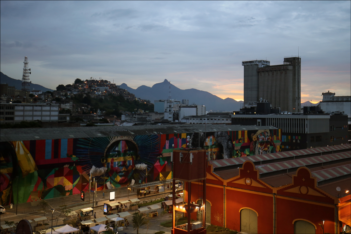 Rio de Janeiro from Port Maua -1