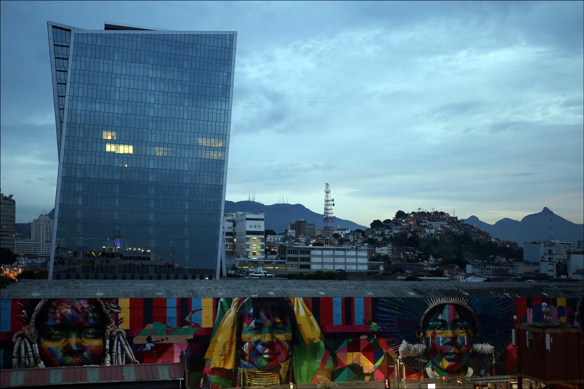 Rio de Janeiro from Port Mauá - 2