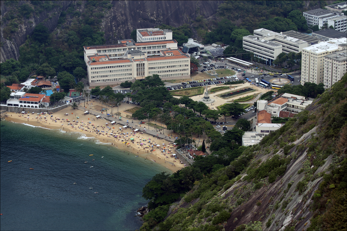 Praia Vermelha from Sugarloaf