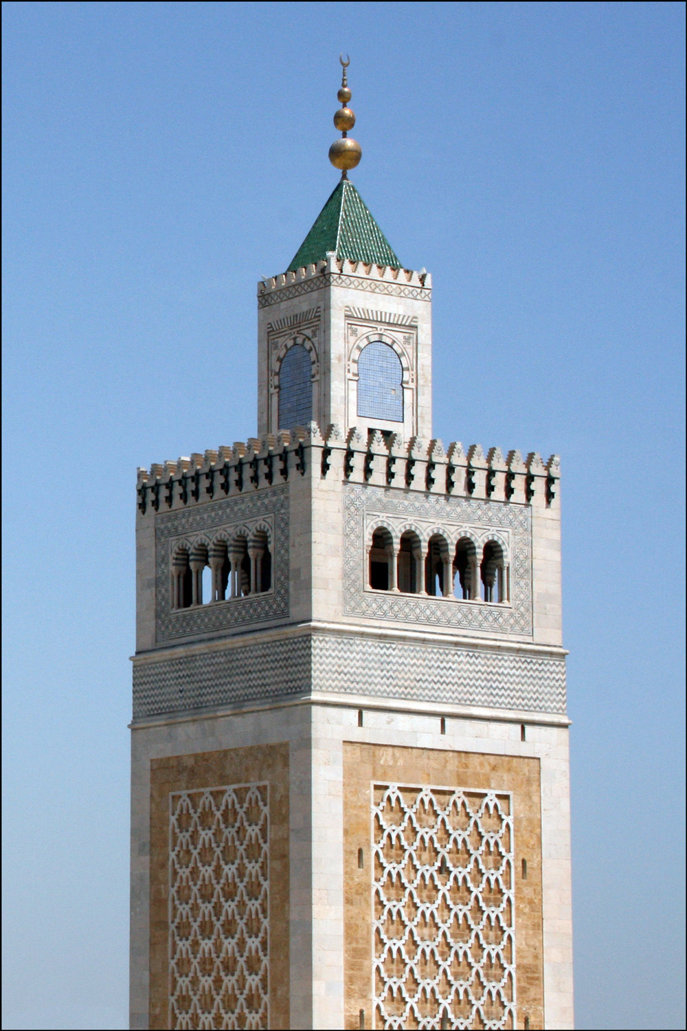 Mosques And Minarets In Tunis Tunisia Steve S Genealogy Blog